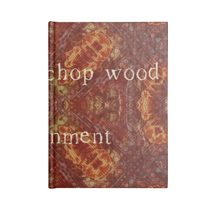 Before & After Enlightenment Accessories Notebook by An Authentic Piece