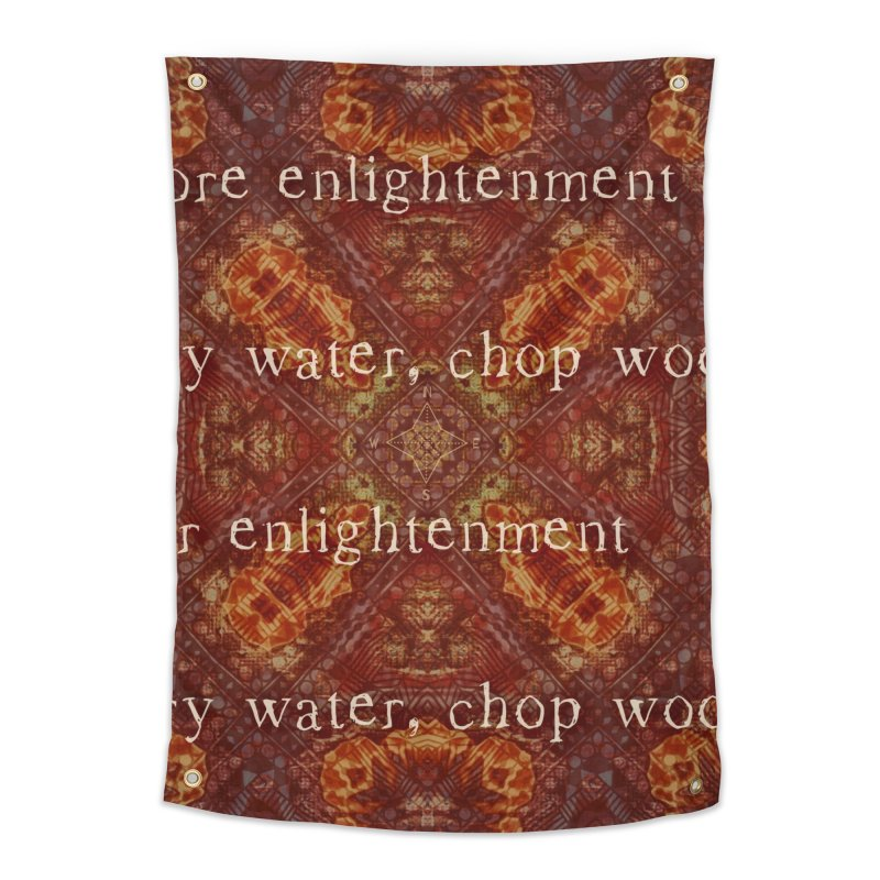Before & After Enlightenment Home Tapestry by An Authentic Piece