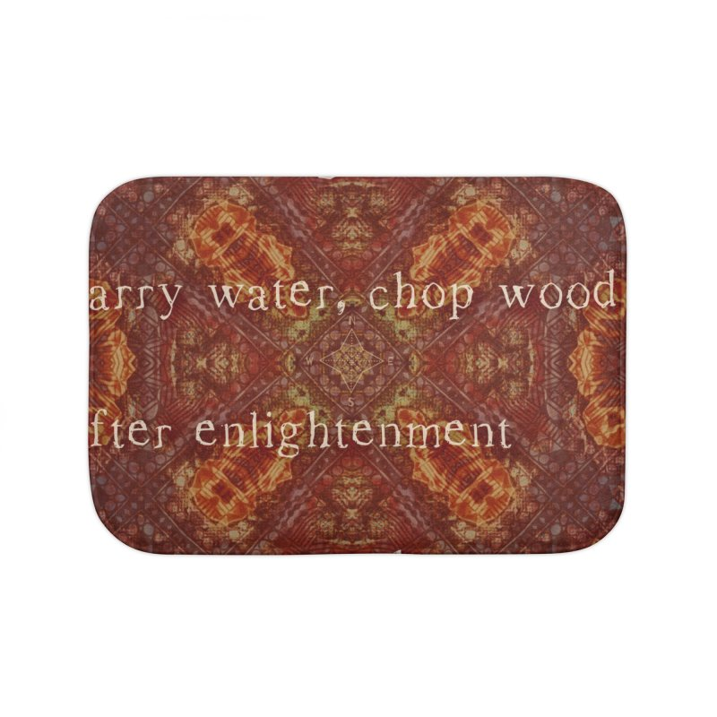 Before & After Enlightenment Home Bath Mat by An Authentic Piece