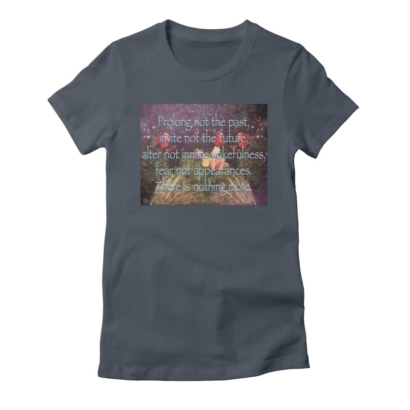 Acceptance Women's Fitted T-Shirt by An Authentic Piece