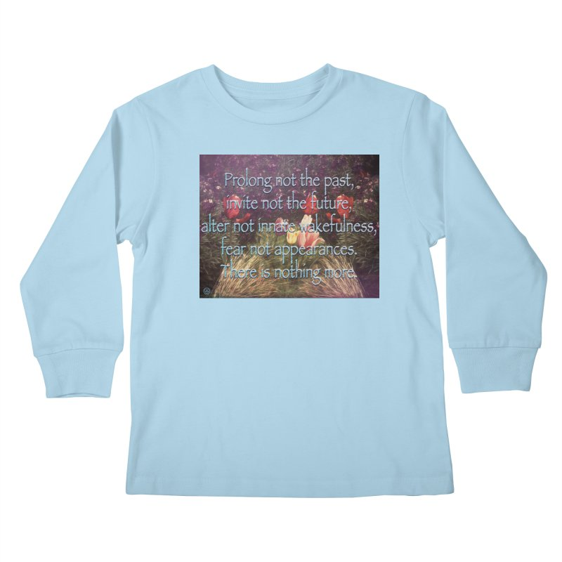 Acceptance Kids Longsleeve T-Shirt by An Authentic Piece