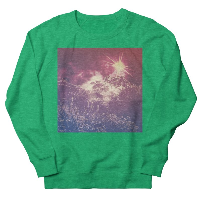 A Star Appears Women's French Terry Sweatshirt by An Authentic Piece