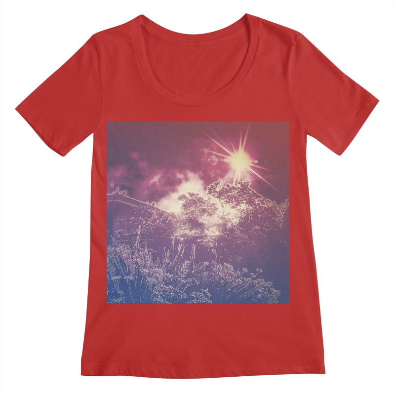 A Star Appears Women's Regular Scoop Neck by An Authentic Piece