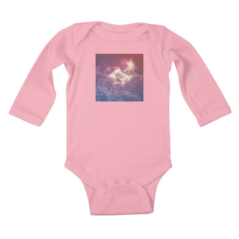 A Star Appears Kids Baby Longsleeve Bodysuit by An Authentic Piece