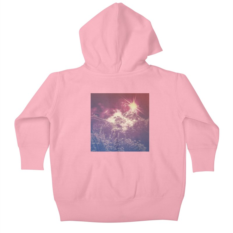 A Star Appears Kids Baby Zip-Up Hoody by An Authentic Piece