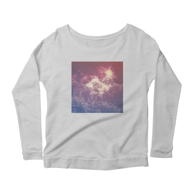 A Star Appears Women's Scoop Neck Longsleeve T-Shirt by An Authentic Piece