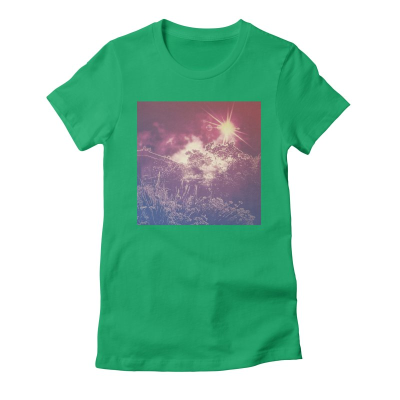 A Star Appears Women's Fitted T-Shirt by An Authentic Piece