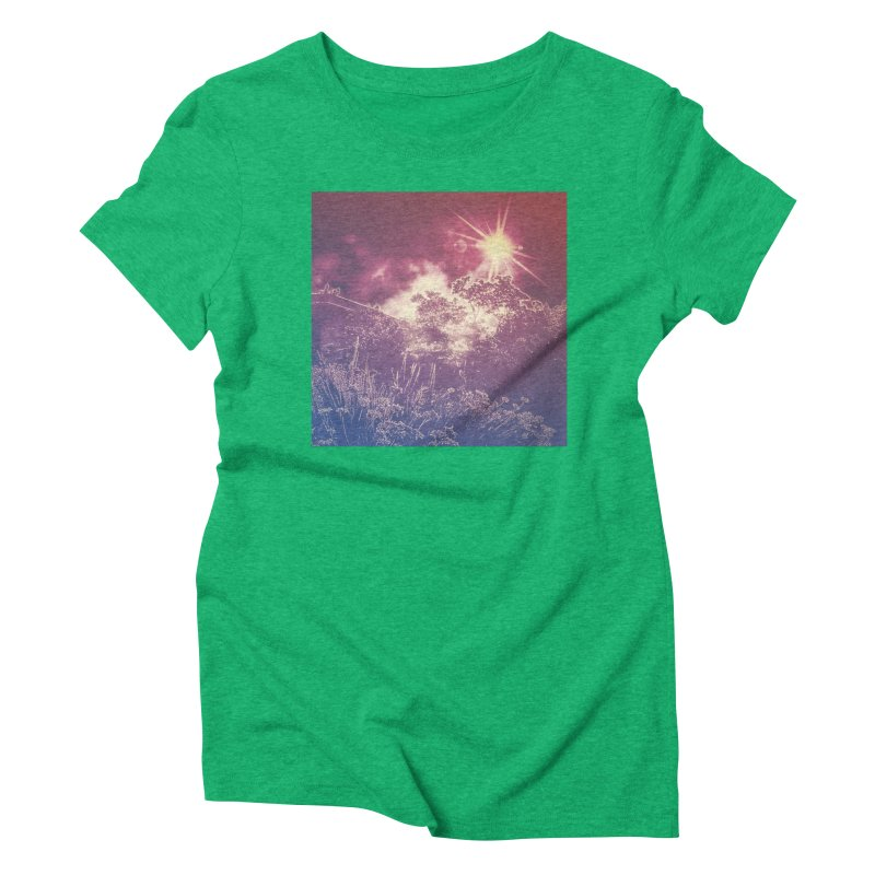 A Star Appears Women's Triblend T-Shirt by An Authentic Piece