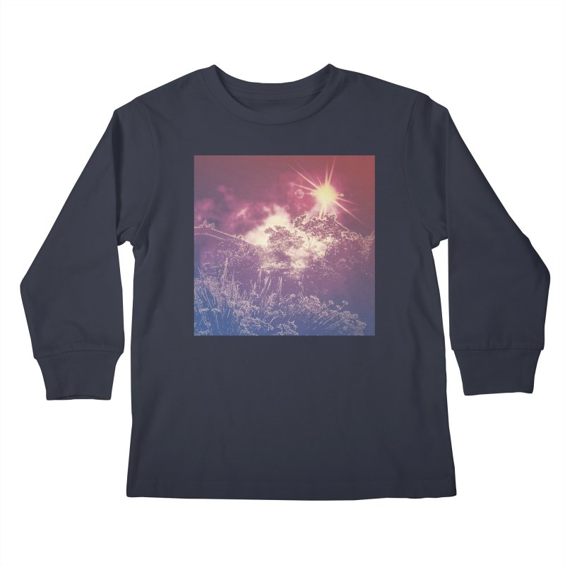 A Star Appears Kids Longsleeve T-Shirt by An Authentic Piece