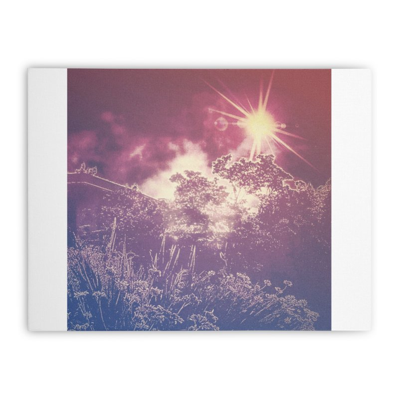 A Star Appears Home Stretched Canvas by An Authentic Piece