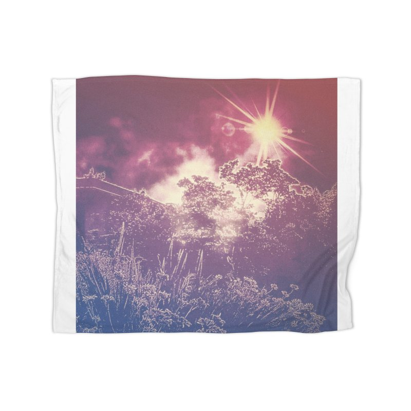 A Star Appears Home Fleece Blanket Blanket by An Authentic Piece