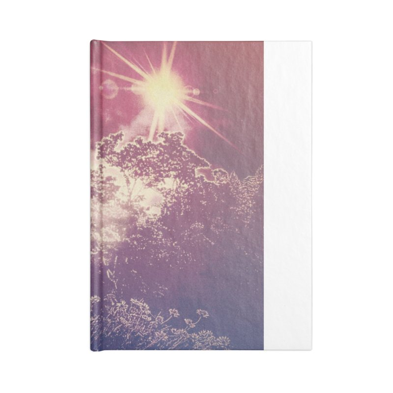 A Star Appears Accessories Lined Journal Notebook by An Authentic Piece