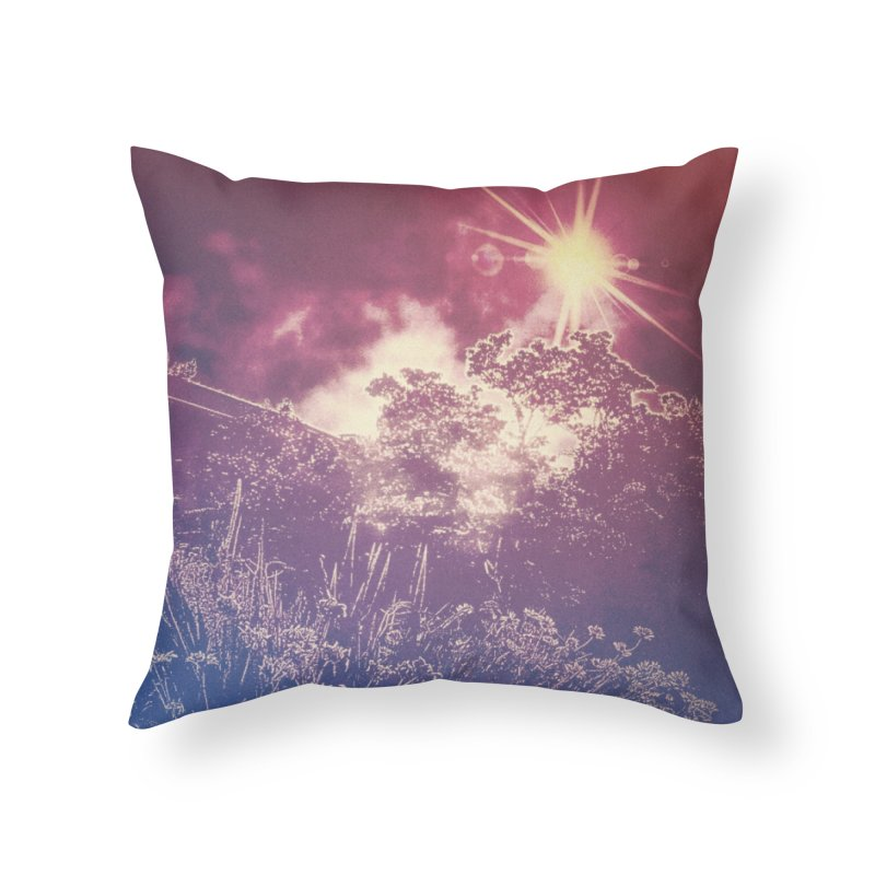 A Star Appears Home Throw Pillow by An Authentic Piece