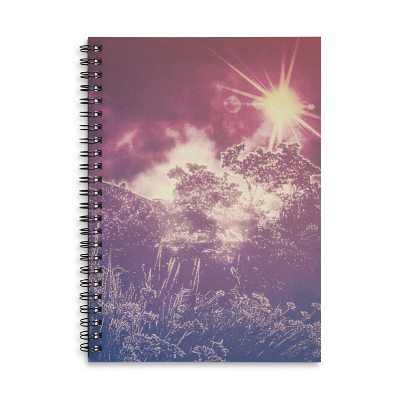A Star Appears Accessories Lined Spiral Notebook by An Authentic Piece
