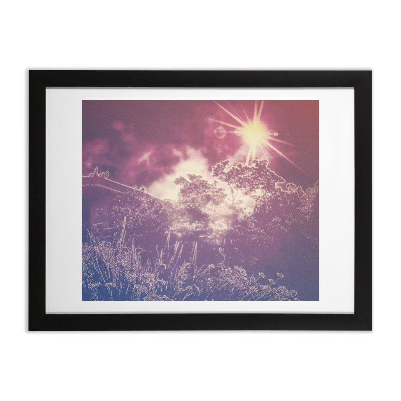 A Star Appears Home Framed Fine Art Print by An Authentic Piece