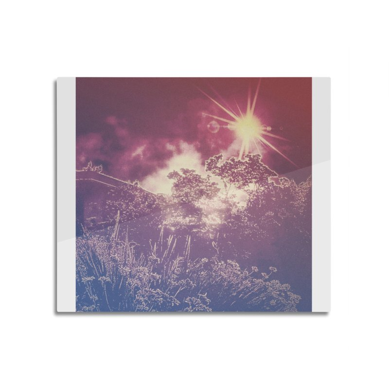 A Star Appears Home Mounted Aluminum Print by An Authentic Piece
