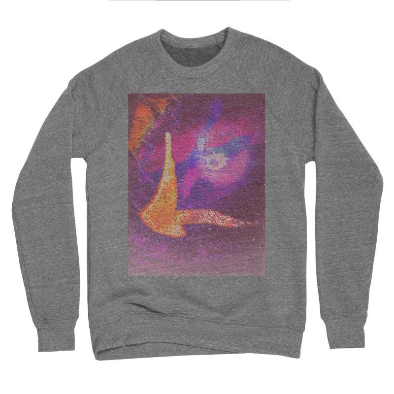 Fire Bird Men's Sponge Fleece Sweatshirt by An Authentic Piece