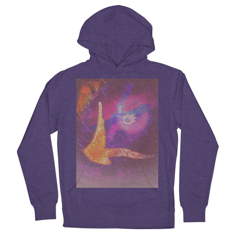 Fire Bird Men's French Terry Pullover Hoody by An Authentic Piece