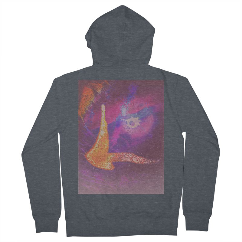 Fire Bird Women's French Terry Zip-Up Hoody by An Authentic Piece