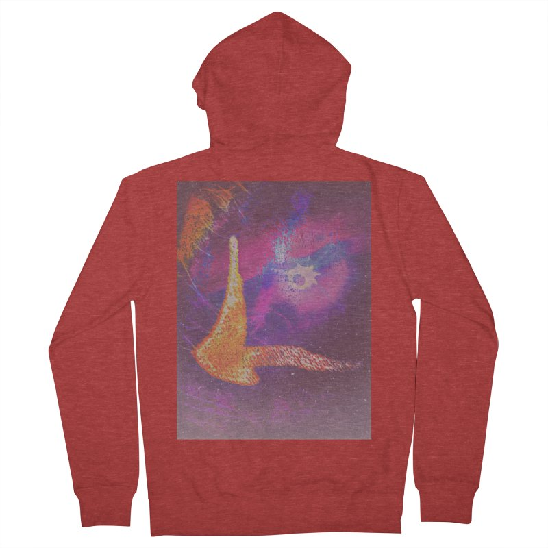 Fire Bird Men's French Terry Zip-Up Hoody by An Authentic Piece