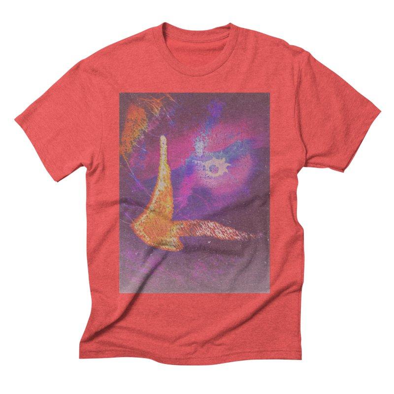 Fire Bird Men's Triblend T-Shirt by An Authentic Piece
