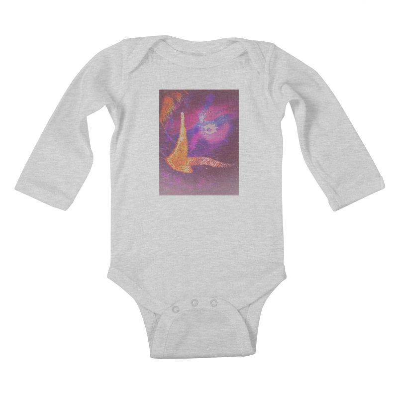 Fire Bird Kids Baby Longsleeve Bodysuit by An Authentic Piece
