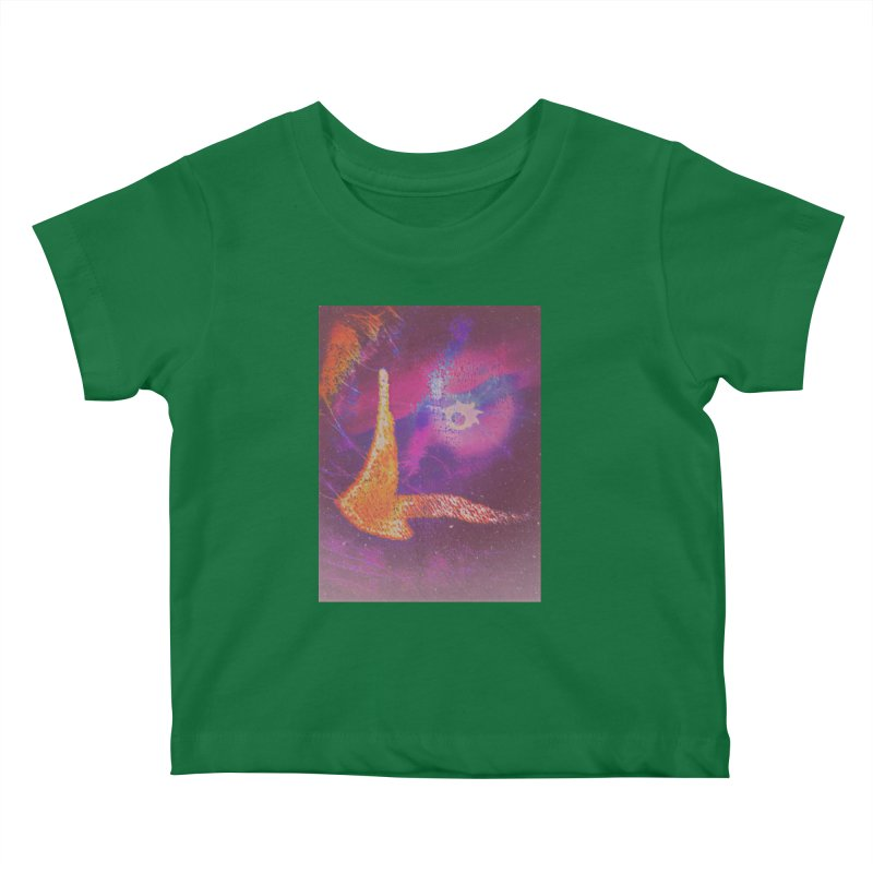 Fire Bird Kids Baby T-Shirt by An Authentic Piece