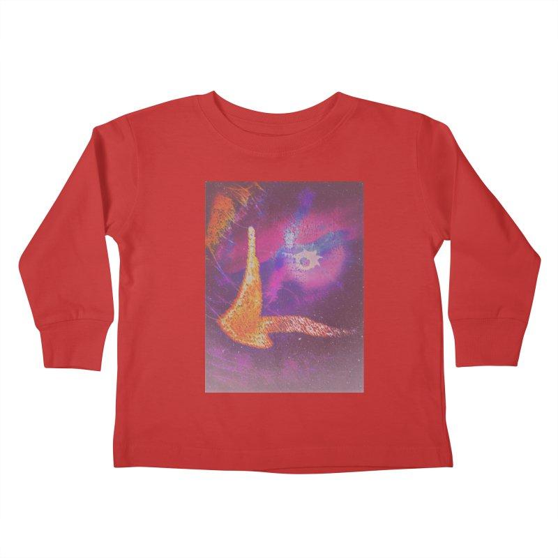 Fire Bird Kids Toddler Longsleeve T-Shirt by An Authentic Piece