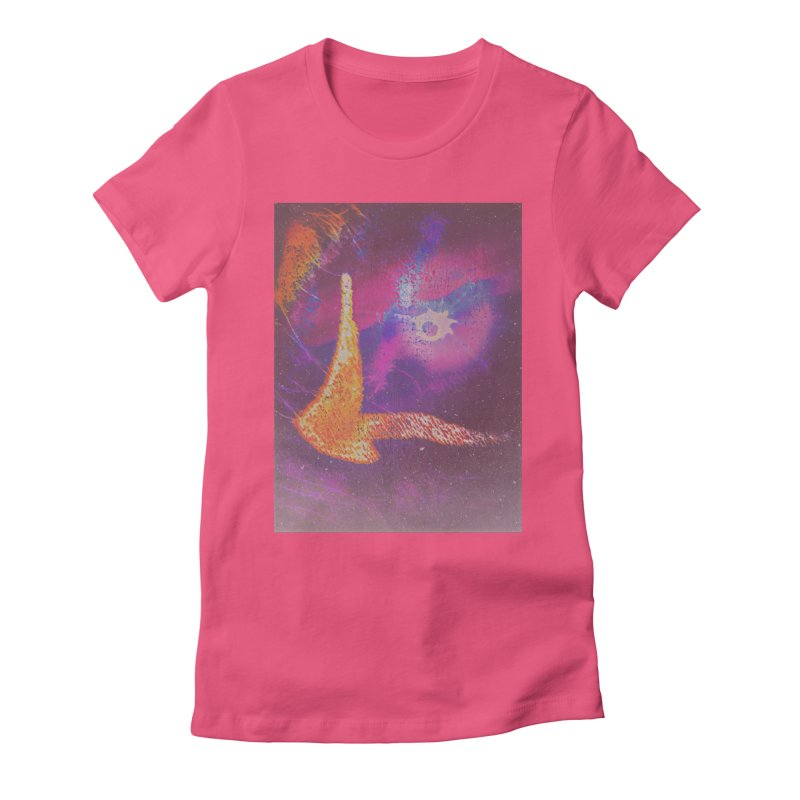 Fire Bird Women's Fitted T-Shirt by An Authentic Piece