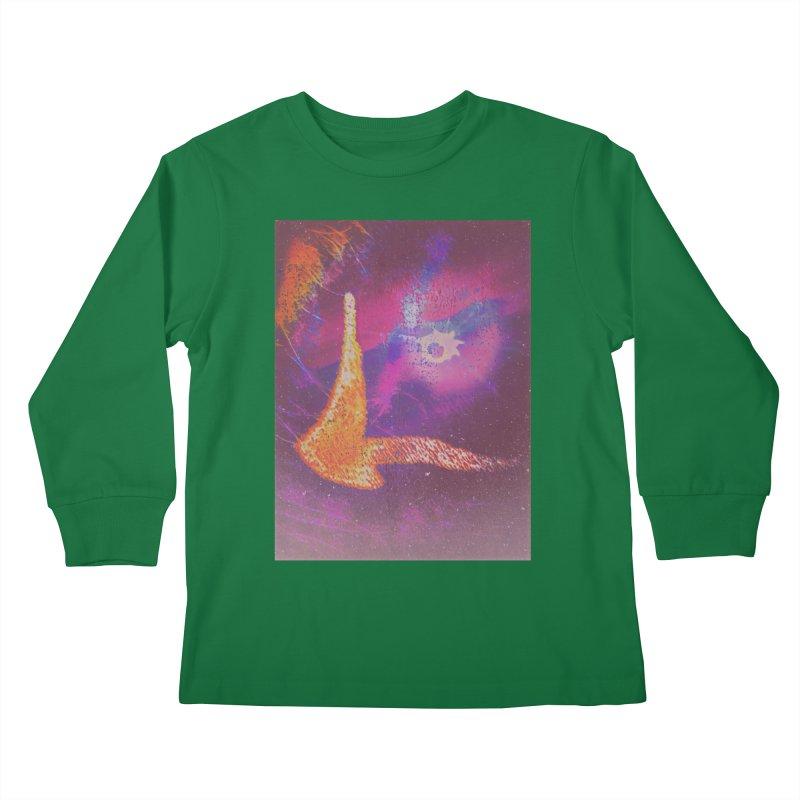 Fire Bird Kids Longsleeve T-Shirt by An Authentic Piece
