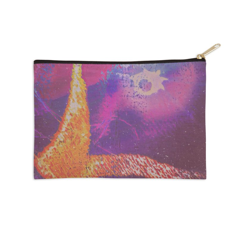 Fire Bird Accessories Zip Pouch by An Authentic Piece