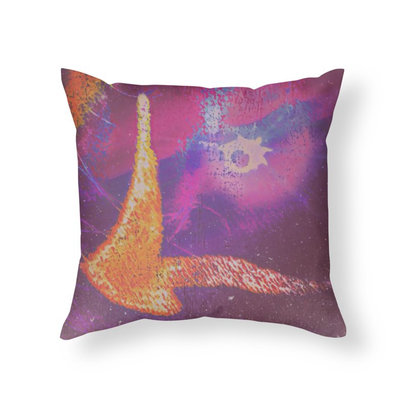 Fire Bird Home Throw Pillow by An Authentic Piece