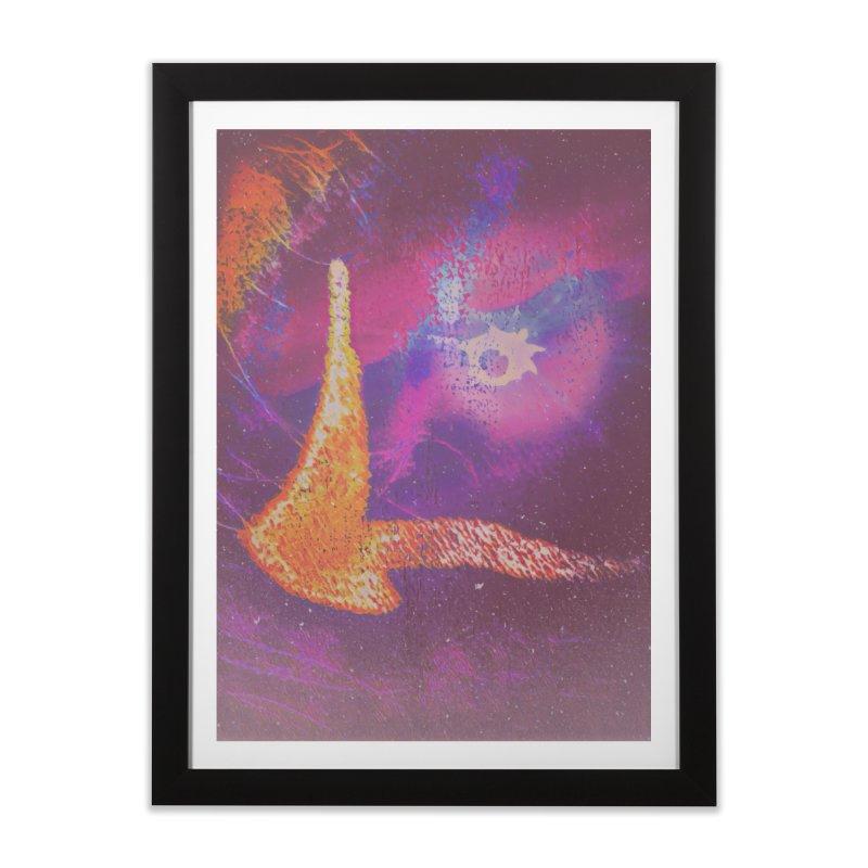 Fire Bird Home Framed Fine Art Print by An Authentic Piece