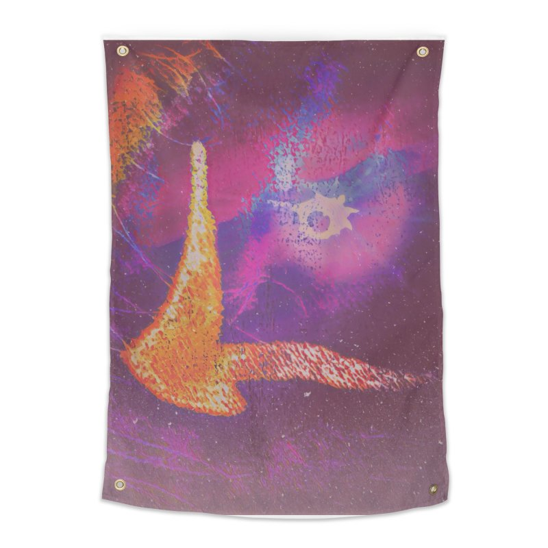 Fire Bird Home Tapestry by An Authentic Piece