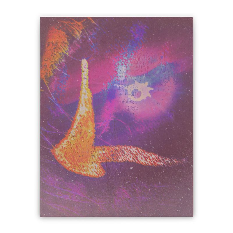 Fire Bird Home Stretched Canvas by An Authentic Piece