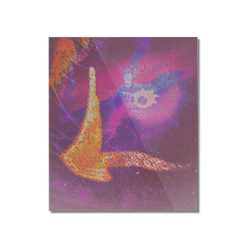Fire Bird Home Mounted Acrylic Print by An Authentic Piece