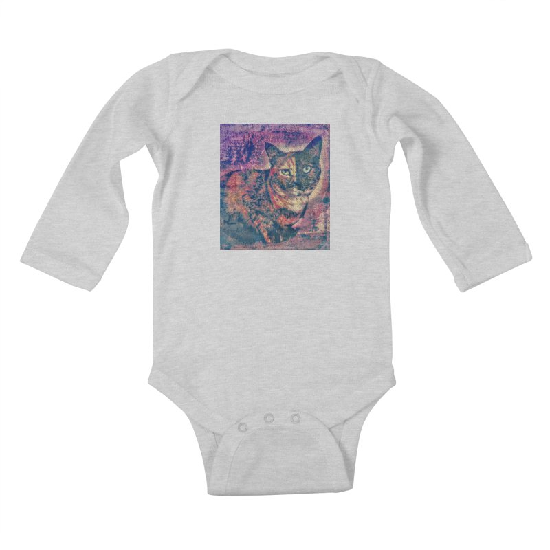 Mercy Stares Kids Baby Longsleeve Bodysuit by An Authentic Piece