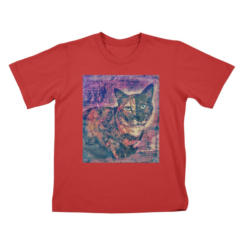 Mercy Stares Kids T-Shirt by An Authentic Piece