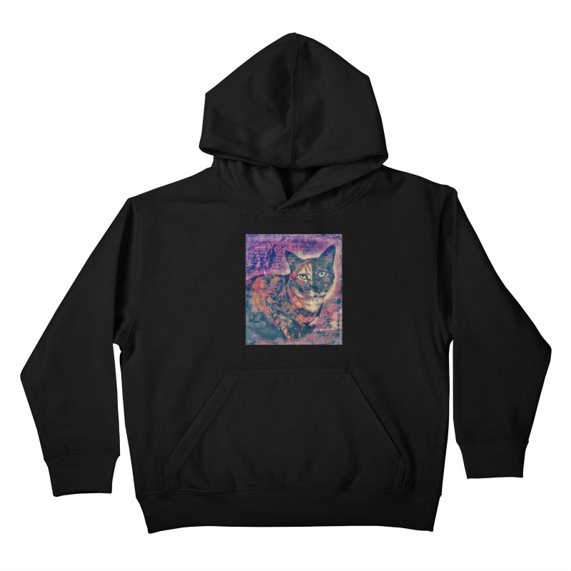Mercy Stares Kids Pullover Hoody by An Authentic Piece