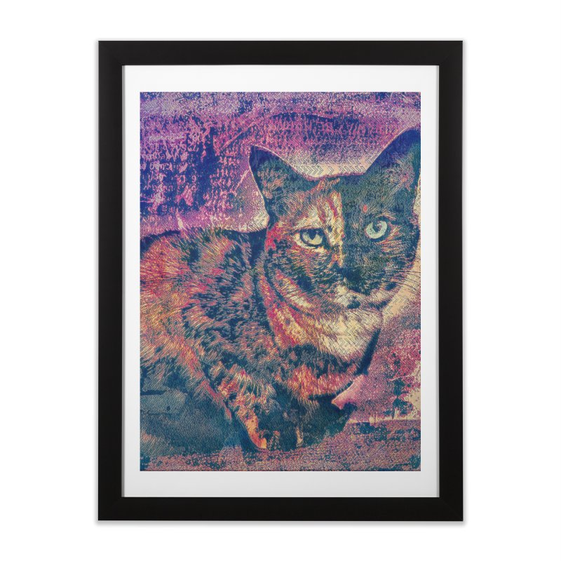 Mercy Stares Home Framed Fine Art Print by An Authentic Piece