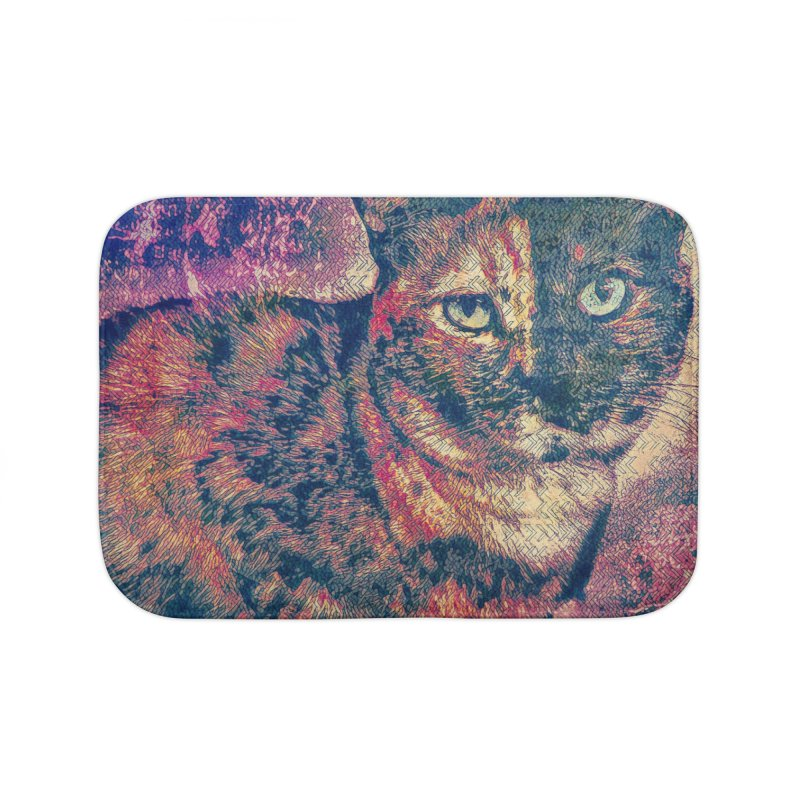 Mercy Stares Home Bath Mat by An Authentic Piece