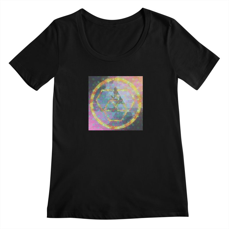A New Look Women's Regular Scoop Neck by An Authentic Piece