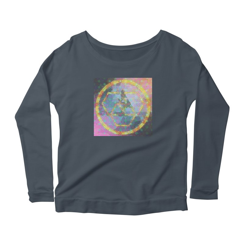 A New Look Women's Scoop Neck Longsleeve T-Shirt by An Authentic Piece