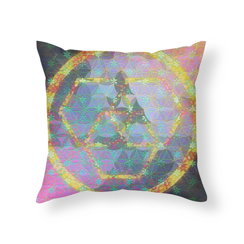A New Look Home Throw Pillow by An Authentic Piece