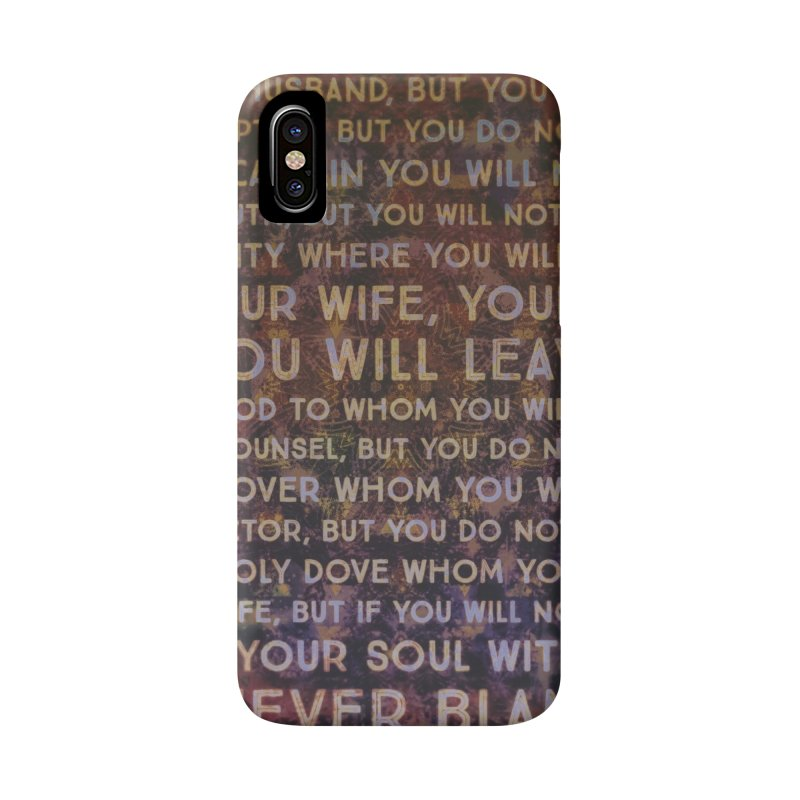 Never Blame Me Accessories Phone Case by An Authentic Piece