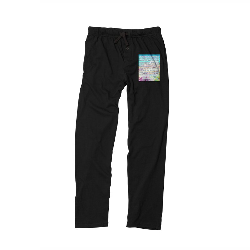 Art Can Save Us Men's Lounge Pants by An Authentic Piece