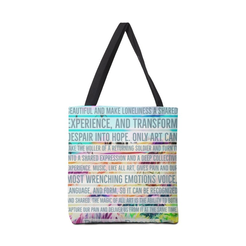 Art Can Save Us Accessories Bag by An Authentic Piece