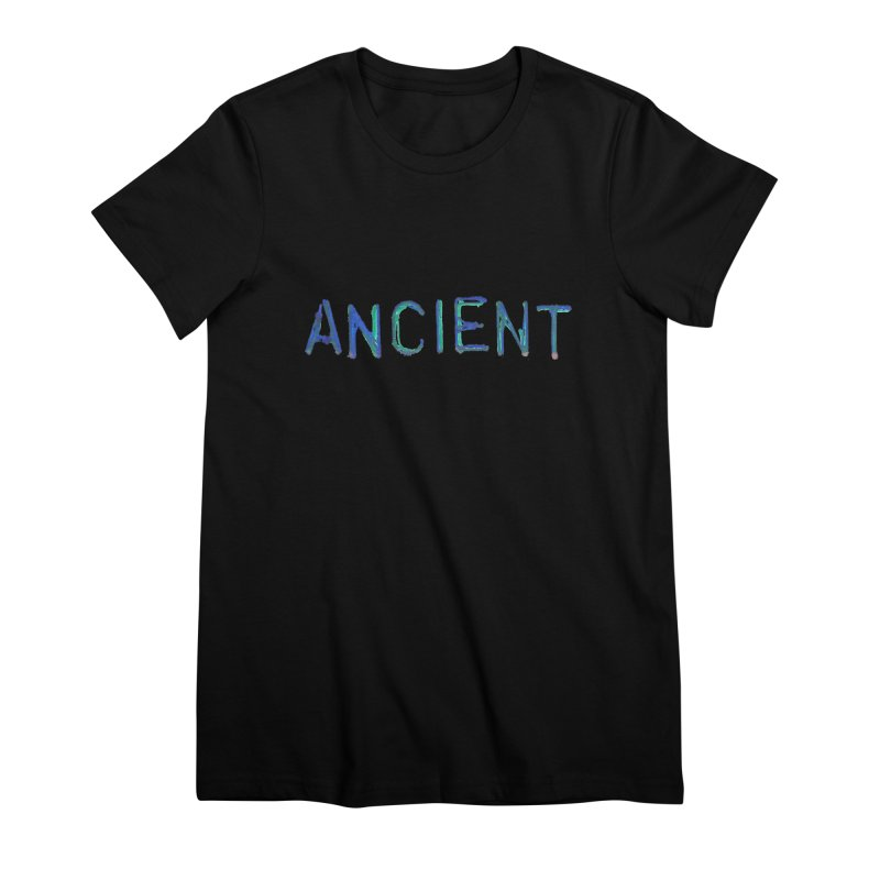 Ancient Champion Ancient Logo Blue Women's T-Shirt by Dress like an Ancient Champion