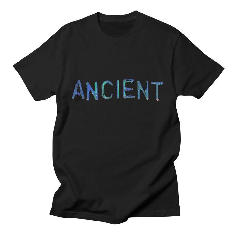 Ancient Champion Ancient Logo Blue Men's T-Shirt by Dress like an Ancient Champion