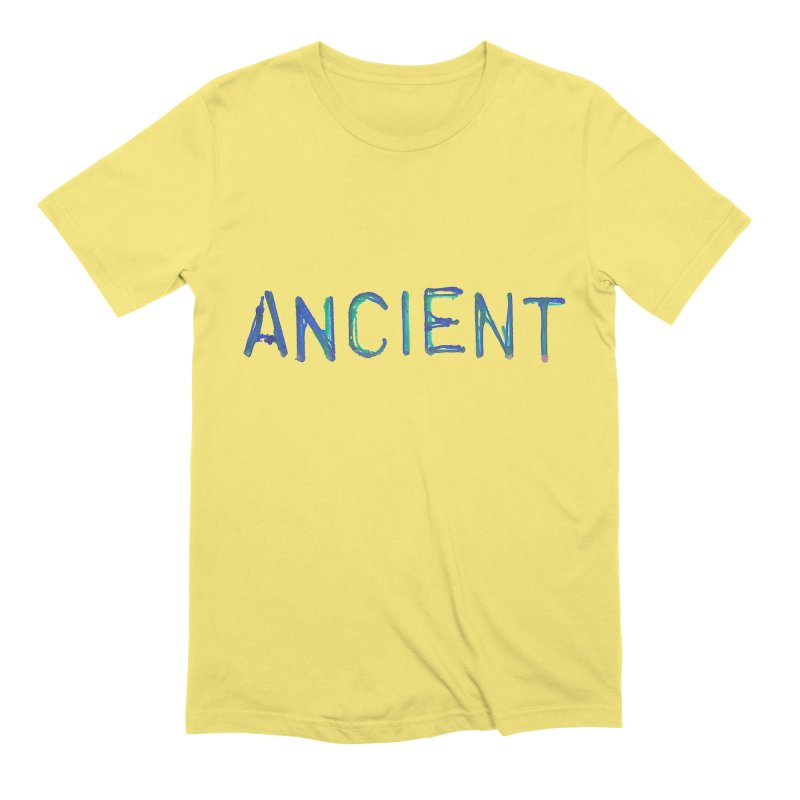 Ancient Champion Ancient Logo Blue Men's T-Shirt by Dress like an Ancient Champion